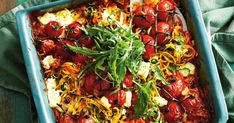 With only 15 minutes prep, this vegetarian zoodle bake makes a delicious midweek dinner.