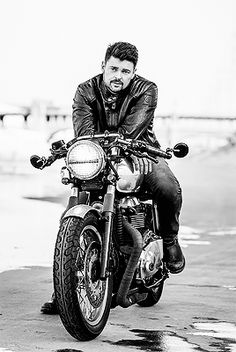 Karl Urban as muse for Andre