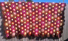 First Crochet Hexagon Granny Square Blankie!