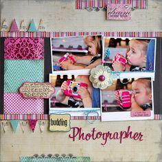 Budding Photographer ~Lily Bee Designs~ - Scrapbook.com