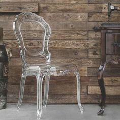 Cadeira Belle Epoque Transparente Tramontina
