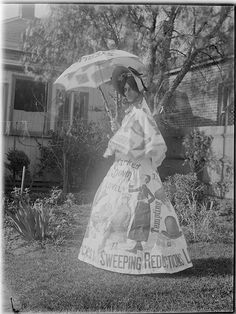 vintage everyday: Fancy Dress in Australia in The Past