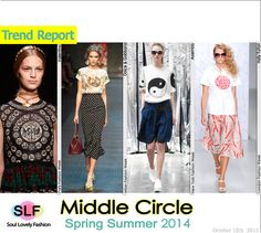 The Middle Circle FashionTrend for Spring Summer 2014  #prints #print #fashion #spring2014 #trends #fashiontrends2014