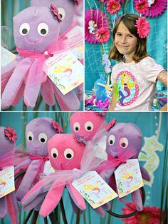 sea turtle themed birthday party girl | Bird's Party Blog: A Magical Under The Sea Birthday Party!