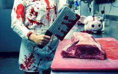 DIY Butcher Costume - maskerix.com