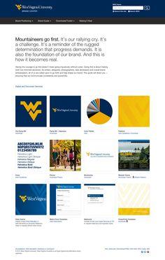 Styleguide - http://brand.wvu.edu/