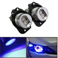#BangGood - #Eachine1 12V LED Headlight Angel Eyes Halo Rings Bulb Lamp Blue Light for BWM E90 E91 - AdoreWe.com