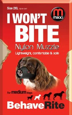 Interpet Mikki Muzzle Size 2xl -- Visit the image link more details. (This is an affiliate link) #DogMuzzles