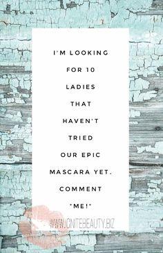 #14day #loveitguarntee #Younique #naturalbase #epic #mascara #tryit #lashes #epicmascara #onestep #ignitebeauty #lashlove #beauty #makeup #cosmetics