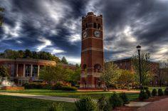 Alumni Tower, Western Carolina University, Cullowhee NC