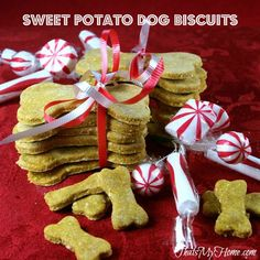 Sweet Potato Dog Biscuits Recipe on Yummly