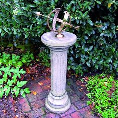 """<p> Hand crafted in stone by expert UK craftsman. Weather proof - Height 105cm. <span style=""""color: rgb(255, 0, 0); """"><strong>FREE DELIVERY</strong></span></p>"""