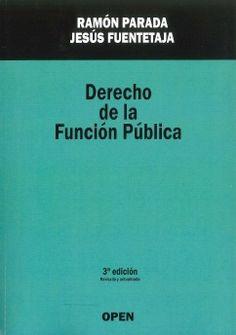 Derecho De La Función Pública: Jesús Fuentetaja: Ramón Parada: Librería Sanz y Torres