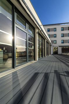 Public and commercial decking applications have additional performance and installation requirements, when compared to normal residential decks. Composite Decking, Garage Doors, Commercial, Public, Decks, Outdoor Decor, Restaurants, Hotels, Home Decor