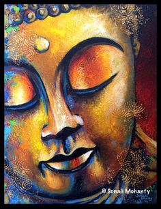 Golden Radiance by Sonali Mohanty