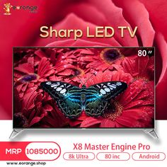 Buy Sharp LED TV Price: BDT Screen Size: 80 INCH Resolution: Ultra HD World's First Resolution TV Smart Android TV Master Engine Pro -Call To order- 01847131000 Inbox us here: m.me/eorange.shopbd Website: www. 8k Tv, 8k Ultra Hd, Grocery Items, Screen Size, Engine, Android, Led, Electronics, Website