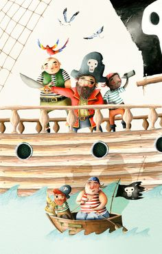 Holly Clifton-Brown by T2 Children's Illustrators, via Behance