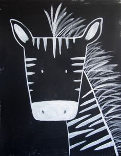 0013 – Modern Kids and Nursery Art – The Zebra Art Print No. 0013 – Modern Kids and Nursery Art – The Zebra Art Print Club D'art, Art Club, Zebra Drawing, Classe D'art, Zebra Art, Zebra Kids, Kindergarten Art, Inspiration Art, Modern Kids