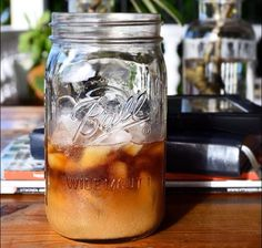 Hot mornings call for ice coffee