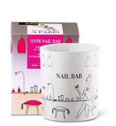 Coffret bougie parfumée 40h hype nail bar fleuri fruité