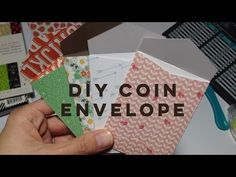 How to make your own Coin Envelope Tutorial - jennings644 - YouTube