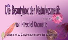 Die Beautybox der Naturkosmetik von Hirschel Cosmetic