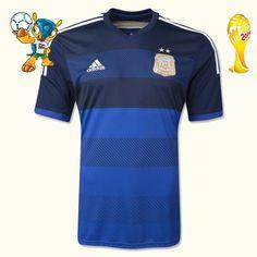 Boutique de Maillot Argentine Coupe Du Monde 2014 Extérieur personnaliser,acheter maillot foot,lly.525.com