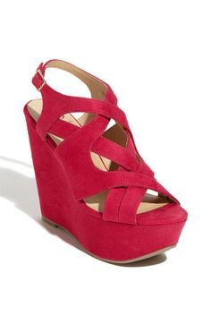 Bright Wedge Shoes For Spring um I think yes..