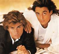 Wham! OMG, George Michael and Andrew Ridgeley...the hair!!