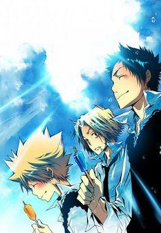 AW THIS IS CUTE! TSUNA, GOKUDERA-KUN, AND YAMAMATO