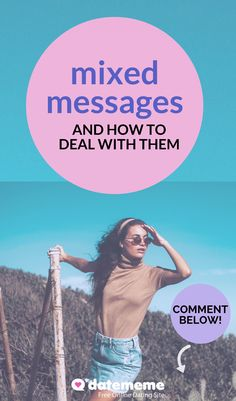 You can take some steps to et the answers from your ambiguously-intentioned date. Relationship Problems, Relationships Love, Relationship Advice, Online Dating Advice, Dating Tips, Dating Red Flags, How To Be Irresistible, Online Profile, Best Dating Apps