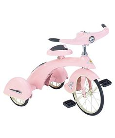 Take a look at this Pink Junior Sky King Trike by Airflow on #zulily today!