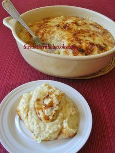 """We love potatoes """"fixed"""" this way and you can do so many different variations. Great for holidays or just anytime. 7 or 8 large potatoes, peeled1 teaspoon salt4 tablespoons butter or ma…"""