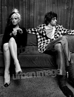 Paula Yates and Bob Geldof. Say what you want about Paula (and I love her), she always looked fabulous.