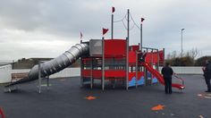 Play and Leisure Services - HAGS-SMP Custom made ship multiplay unit, with tube slide. - Pickie Park Play Area, Bangor, County Down, Northern Ireland