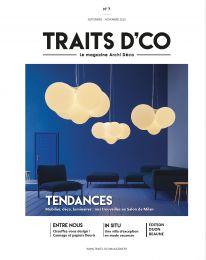 Les appliques qui se montrent - TRAITS D'CO Magazine Magazine, Dressings, Projects To Try, Decoration, Sliding Door Room Dividers, Book Cabinet, Decor, Magazines, Decorations