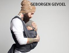 babywearing father...just how it'll be when I marry Adam Levine  he grows a beard and holds our baby.....