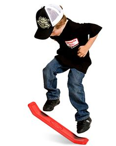Yo Baby Kick Flipper by GarageCo Toys - $15.95 - this looks fun, maybe... Skateboard without wheels