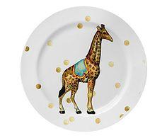 Prato Raso Girafa - 25,3cm