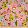 Moda Cherry On Top Candy Garden Pink - Discount Designer Fabric - Fabric.com