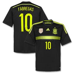 Adidas Spain Away Fabregas Shirt 2014 2015 Spain Away Fabregas Shirt 2014 2015 http://www.comparestoreprices.co.uk/football-shirts/adidas-spain-away-fabregas-shirt-2014-2015.asp