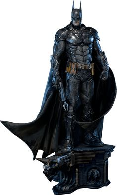 DC Comics Batman Battle Damage Version Statue by Prime 1 Stu Batman Armor, Batman Ninja, Batman Arkham Knight, Im Batman, Black Superman, Batman Cape, Coleccionables Sideshow, Predator Cosplay, Dc Comics