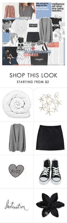 """""""HAPPY BIRTHDAY MACEY"""" by feels-like-snow-in-september ❤ liked on Polyvore featuring Chanel, PAM, Brinkhaus, Eska, Converse, Wassup, Heidi Swapp, ASOS, Monki and philosoqhytags"""
