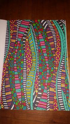 Creatief kleurboek voor volwassenen van de Action. Gemaakt door Eef ♡