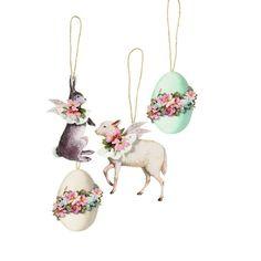 Tilda All That is Spring Material Kit Spring Ornaments - Tilda Books & Kits - Tilda Crafts - Sewing