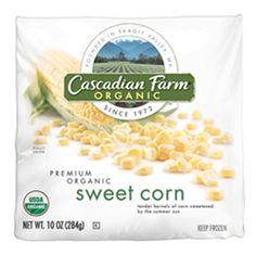 Frozen Sweet Corn- Cascadian Farm