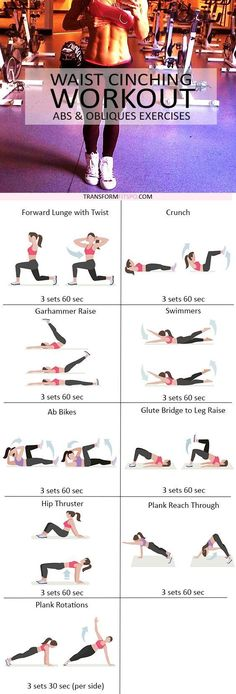 "fitnessforevertips:  ""The Best Ab Workouts to Get A Flat Belly  """