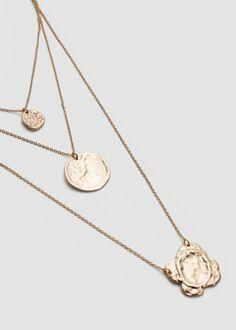 Pendant chain necklace | MANGO