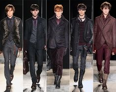 """The world of today is all about contrasts that come together,"""" says John Varvatos of his autumn/winter 2013 collection. Description from essentialhommemag.com. I searched for this on bing.com/images"""