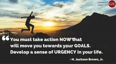 What's keeping you from taking action to reach your life goals? Is it fear? Doubt? Lack of motivation?